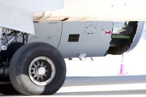 Per plauką nuo tragedijos: lėktuvas su skyle variklio gaubte sėkmingai nutupdytas