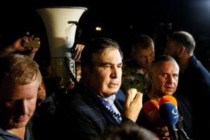 M. Saakašvilio veiksmai yra ataka prieš Ukrainos valstybingumą?