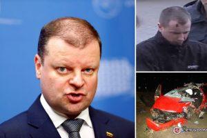 Premjeras: avarijos Marijampolėje kaltininkas turi būti teisiamas dėl nužudymo