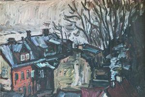 Ambicingas užmojis – V. Povilaičio kūrinių paroda
