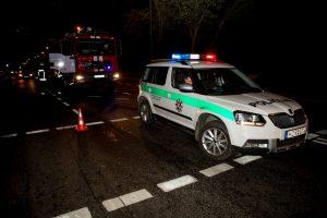 Klaipėdos rajone sunkiai sužalotas avarijos kaltininkas