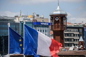 Prancūzija: uždaromos diplomatinės misijos Turkijoje
