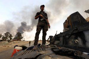 Irako karinė bazė atakuota raketa su galimu cheminiu užtaisu