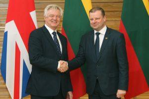 """""""Brexit"""" ministras: jei būčiau lietuvis, tikrai nesijaudinčiau"""