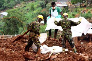 Siera Leonėje nuošliaužos aukų skaičius perkopė tūkstantį