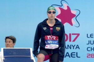 Plaukikė A. Šeleikaitė pasaulio taurės varžybose iškopė į dar vieną finalą
