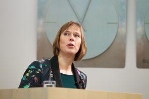 Estijoje išrinkta nauja šalies prezidentė