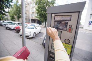 Rinkliava už automobilių  stovėjimą– didmiesčių būtinybė