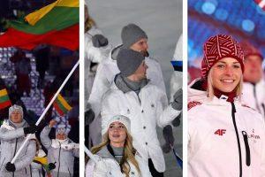 Kaip Pjongčango olimpiados atidaryme atrodė lietuviai, latviai ir estai?