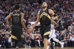 "NBA: lemiami J. Valančiūno taškai ir ""Raptors"" pergalė"