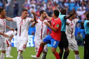 Pasaulio futbolo čempionatas: Serbija palaužė Kosta Rikos rinktinę