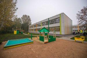 Aleksoto darželyje degė vaikų namelis