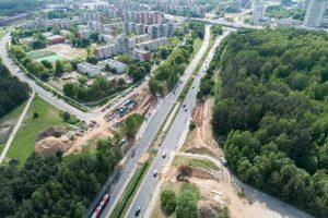 Aiškėja, kada bus atidarytas naujasis T. Narbuto viadukas