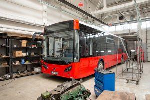 Kaune pradeda kursuoti 25 nauji autobusai