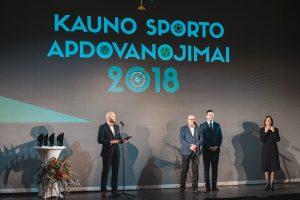 """""""Kauno sporto apdovanojimai 2018"""": virš olimpo kyla naujai įsižiebusios žvaigždės"""