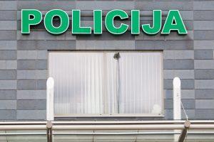 Agresijos apimtas alytiškis sužalojo du policininkus