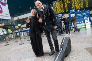 """Į Kijevą išlydėta """"Fusedmarc"""" vokalistė: tikimės patekti į pirmąjį trejetuką"""