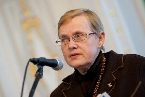 Nacionalinių premijų komisijos pirmininke siūloma skirti V. Daujotytę-Pakerienę
