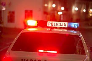 Avarija Šilainiuose: švyturėlius policija įjungė per vėlai?