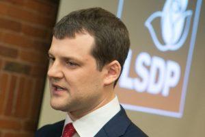 Socialdemokratai pradeda partijos pirmininko rinkimus