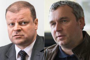 S. Skvernelis ragina R. Kuodį susitelkti į darbus Lietuvos banke