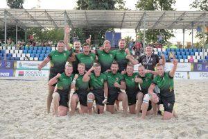 Lietuvos regbininkai liko per žingsnį nuo Europos čempionato medalių