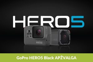"""Naujasis """"Hero5 Black"""": kamerų lyderio apžvalga"""
