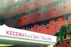 Gaisras Malaizijos ligoninėje nusinešė šešių žmonių gyvybes