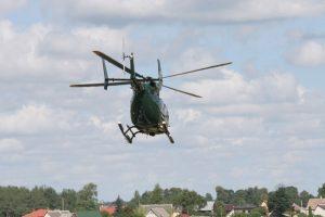 Dingęs alytiškis surastas pasitelkus sraigtasparnį