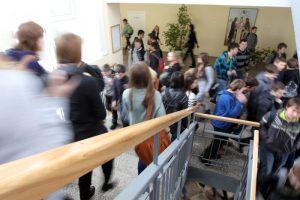 Kauno mokyklose patvirtintas klasių komplektų skaičių