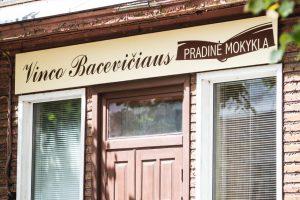 Sprendimas priimtas: V. Bacevičiaus mokyklos nebeliks
