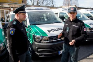 Kauno policijai – nauji automobiliai: kuo geresni?