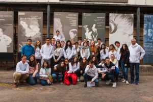 Kaune apsilankę moksleiviai iš Izraelio: mūsų šalys turi daug bendro