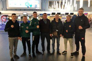 Su trofėjais mūsų šalies boksininkai – iš Moldovos ir Latvijos