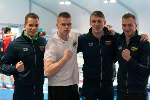 Plaukikai pravėrė duris į Tokijo olimpiadą