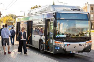 Prasidėjo viešojo transporto keleivių apklausa
