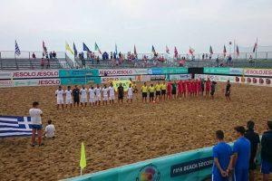 Antrąsias paplūdimio čempionato rungtynes Lietuvos rinktinė pralaimėjo graikams