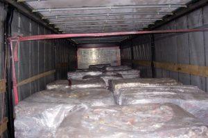 Už slėptą mėsos kontrabandą rusas siūlė 200 eurų