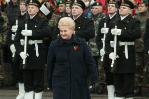 D. Grybauskaitė: šimtmetis buvo veržlus skrydis į ateitį, į laisvą pasaulį