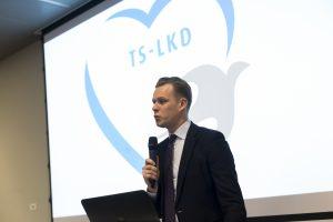 G. Landsbergis: po rinkimų žmonių lūkesčių kreivė krito žemyn