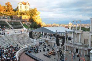 Bulgarijos Plovdivo miestas inauguruotas Europos kultūros sostine