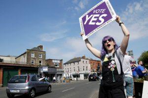 Airijoje pergalę švenčiantys abortų šalininkai krypsta į parlamentą