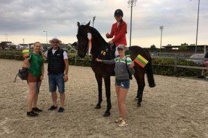 Pirmą čempionato dieną Lietuvos raitelė neturėjo sau lygių