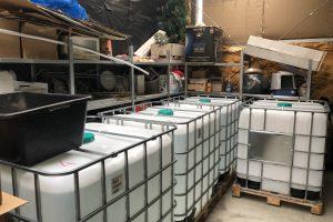 Sunaikintas nelegalaus alkoholio fabrikas: per mėnesį galėjo uždirbti iki 3 mln. eurų