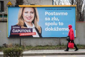 Slovakijos prezidento rinkimus temdo žurnalisto nužudymo šešėlis