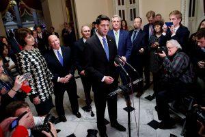 JAV Senatas pritarė mokesčių sistemos pertvarkai