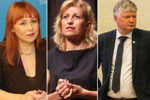 Permainos Vyriausybėje: atleidžiami trys ministrai