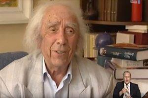 Eidamas 96-uosius metus mirė poetas V. Reimeris