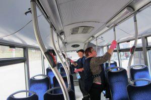 To dar nebuvo: švarinamas sostinės viešasis transportas