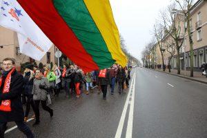 Partijos Klaipėdoje nusavino valstybės šventę?